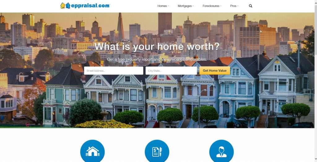 eppraisal.com website photo