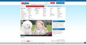 www.adsglobe.com website photo