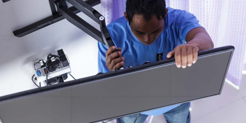 LCD TV Wall Mounting and Set-Up Services