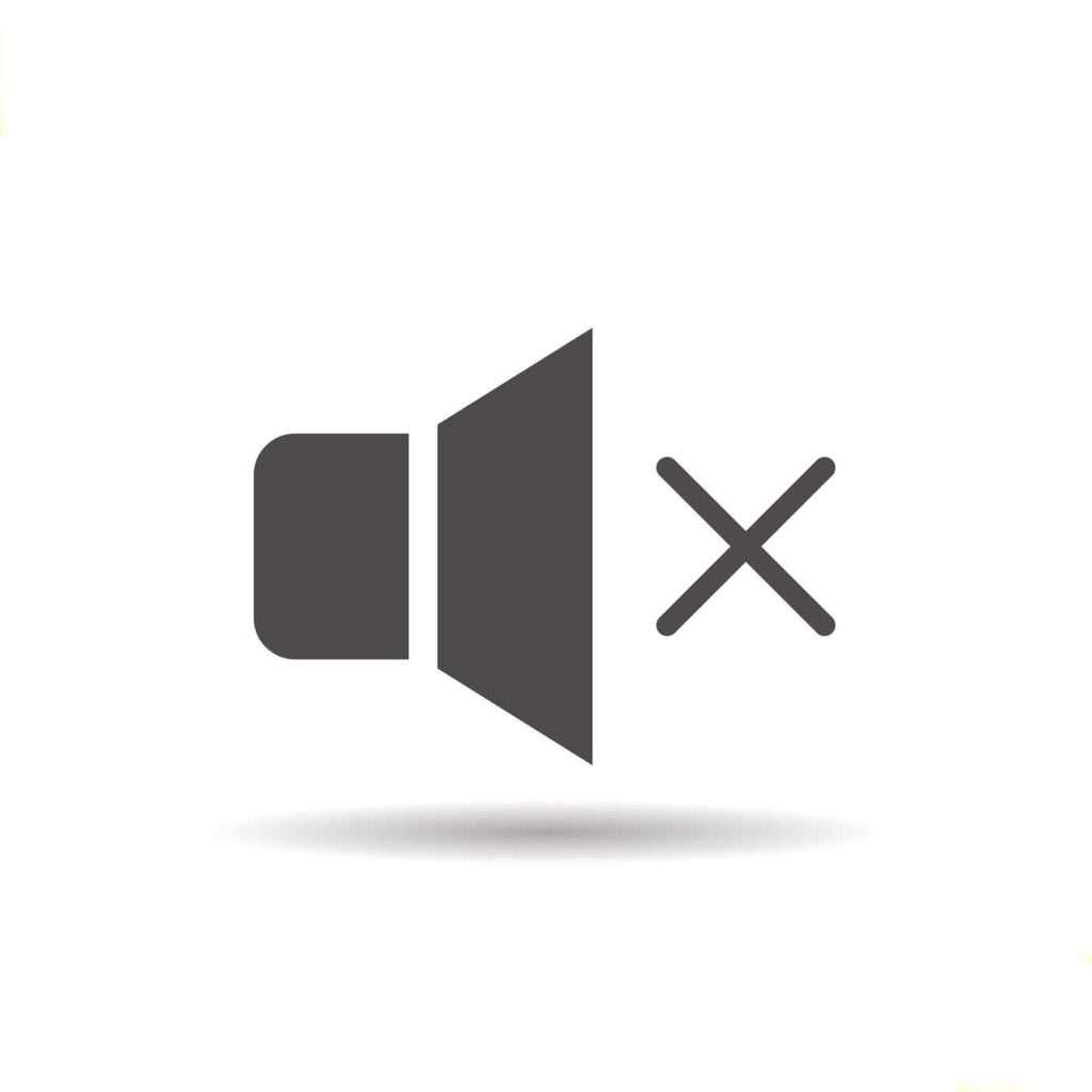 Windows computer sound icon
