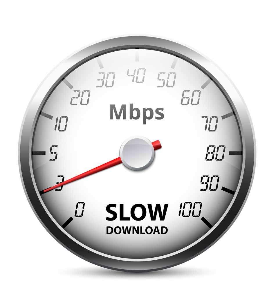 Internet speed guage compressed