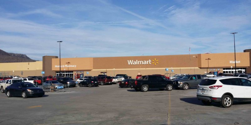 Walmart Supercenters Located In The Nashville, Tennessee Area